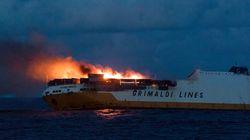 Une nappe d'hydrocarbures se dirige vers les côtes françaises après le naufrage du Grande