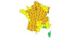 67 départements en vigilance orange à la