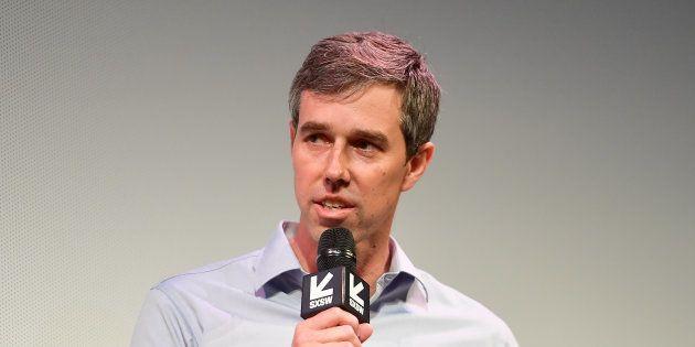 Beto O'Rourke au festival SXSW à Austin au Texas le 9 mars