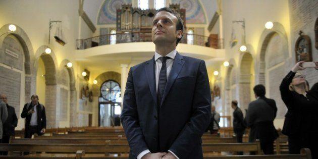 Quel catholique est Emmanuel Macron? Ici à Notre Dame d'Afrique à Alger en février