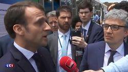 Emmanuel Macron sur