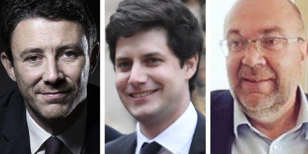 Benjamin Griveaux, Julien Denormandie et Stéphane Travert sont trois proches d'Emmanuel Macron promus...
