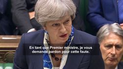 May présente ses excuses aux Anglais après l'incendie de la tour