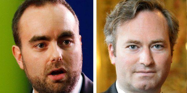 Sébastien Lecornu et Jean-Baptiste Lemoyne, deux nouveaux ministres de droite