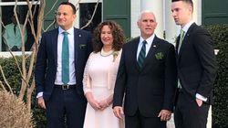 Le premier ministre irlandais a amené son petit-ami pour rencontrer le très conservateur Mike