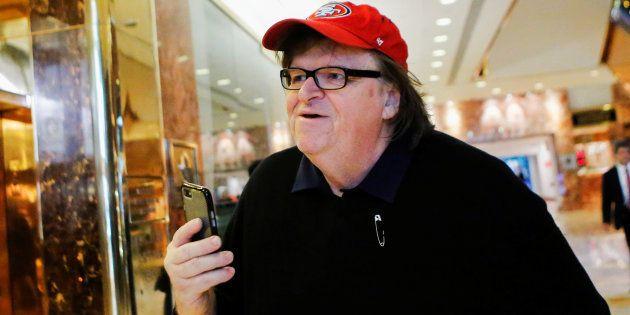 Michael Moore ulcéré par les médias qui se ruent pour