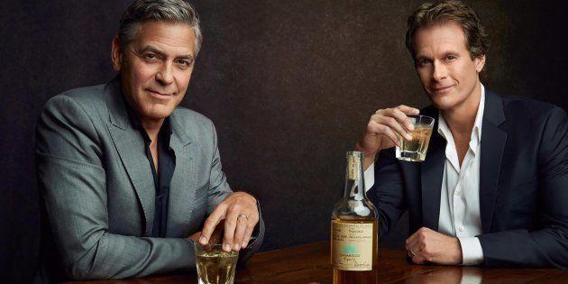 Clooney s'était amusé à créer sa propre tequila. Il vient de la vendre pour un milliard de