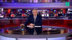 Ce présentateur de la BBC a parfaitement géré son interminable moment de