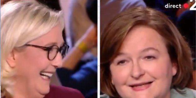 Nathalie Loiseau a annoncé en direct sa candidature sur France 2, ce qui a beaucoup fait rire Marine...