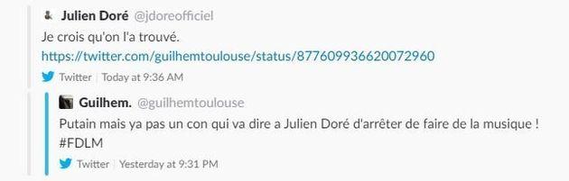 Julien Doré a trouvé le