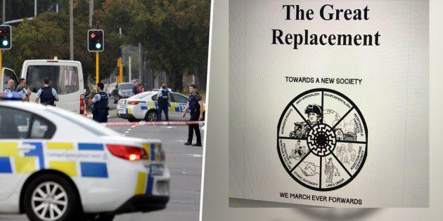 Le manifeste du terroriste de Christchurch, intitulé
