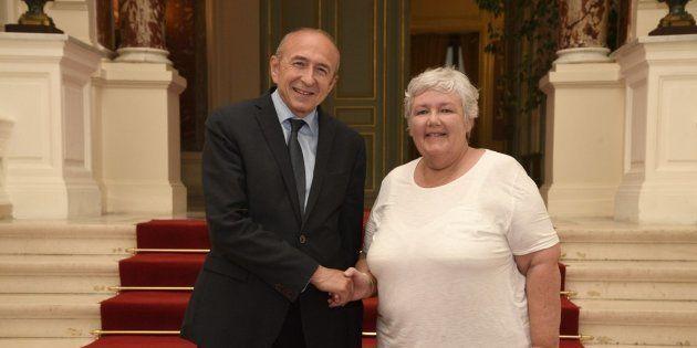 Jacqueline Gourault va seconder Gérard Collomb au ministère de