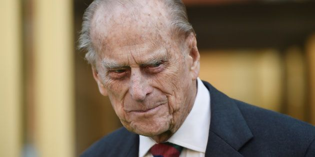Le prince Philip a quitte