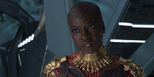 Oublié par Marvel sur son affiche, le nom de l'actrice Danai Gurira a finalement rejoint les autres Avengers...