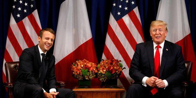 Les 7 bases de la relation entre Emmanuel Macron et Donald