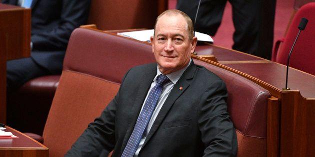 Le sénateur australien Fraser Anning