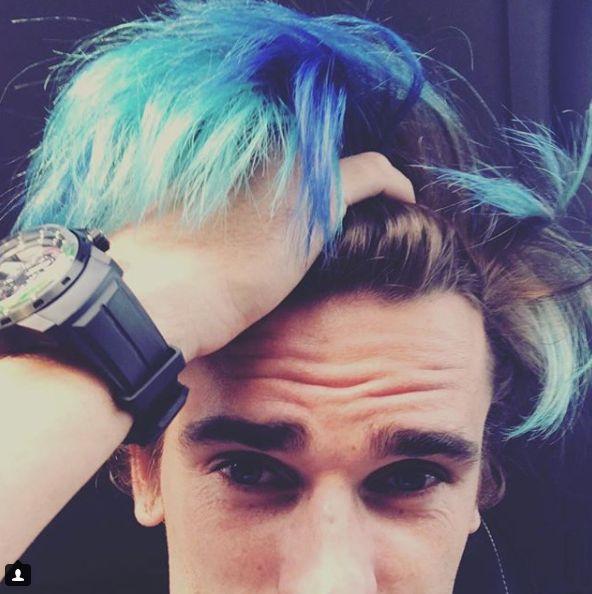 La coiffure d'Antoine Griezmann a subi un sacré coup de