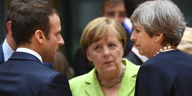 Un an après le Brexit, les 4 pistes du couple Macron-Merkel pour relancer