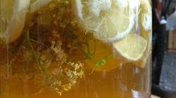Pour une boisson simple, fraiche et faite maison cet été: faites-vous du pétillant de