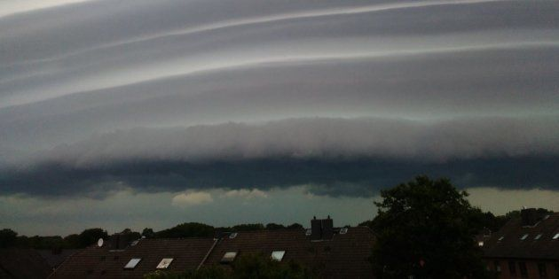 Les images impressionnantes de la tempête qui a fait deux mort à