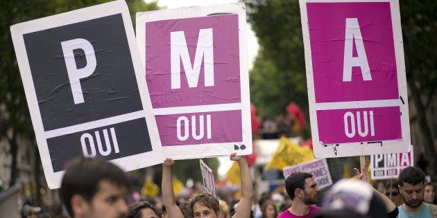 Pour la 40e Marche des Fiertés, l'Inter-LGBT demande la PMA pour toutes. Retour sur 5 ans de débats sans fin