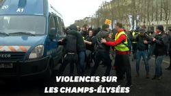 Un camion de la gendarmerie pris pour cible pendant l'acte XVIII des gilets