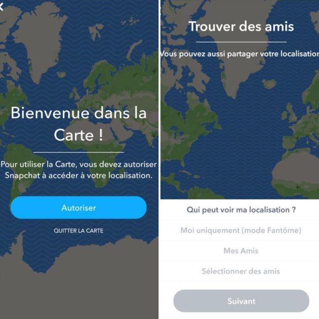 Comment désactiver la nouvelle géolocalisation de Snapchat qui fait peur à