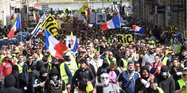 À Bordeaux, la mobilisation des gilets jaunes a semblé marquer un recul ce samedi 16