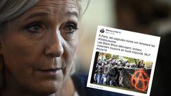 Après l'acte 18, Le Pen dénonce les