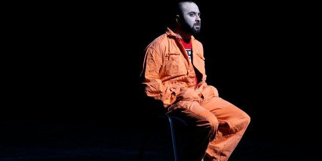 Le dramaturge et acteur Ismaël Saidi, ancien policier, joue sa