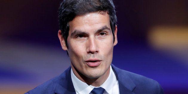 Le président de Radio France Mathieu Gallet à Paris le 22