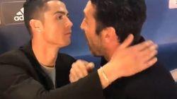 Les fans ont adoré ce que Ronaldo a fait quand il a croisé Buffon après sa grosse