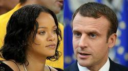 Rihanna interpelle Macron sur