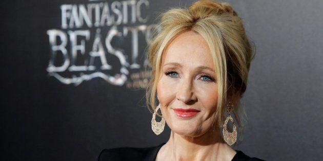 J. K. Rowling à l'avant-première du
