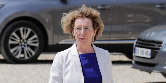 Muriel Pénicaud à l'Elysée le 22 juin