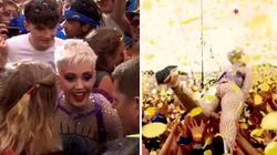 Katy Perry publie une belle vidéo de son slam à
