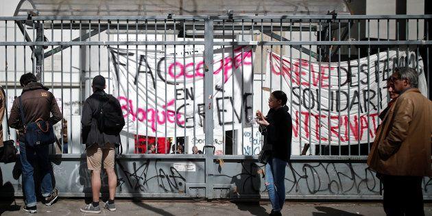 Le blocage des universités, symbole de l'impuissance de Macron à la têt de