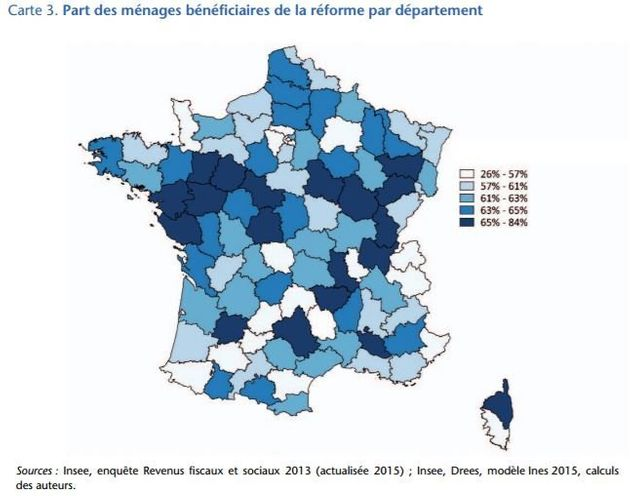 Suppression de la taxe d'habitation: Les départements dans lesquels les contribuables vont y gagner le