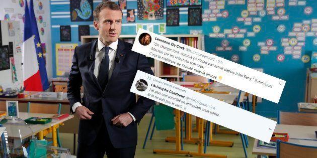 Macron au 13h de Pernaut: sa déclaration sur ses réformes de l'école fait bondir ces