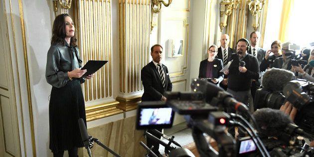 MeToo: Sara Danius, la patronne de l'Académie qui décerne le Nobel de littérature forcée de