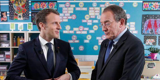 L Interview D Emmanuel Macron Sur Tf1 Offre A Jean Pierre Pernaut Son Record D Audience Depuis 2009 Le Huffpost
