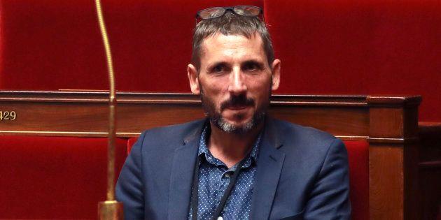 Matthieu Orphelin à l'Assemblée nationale en juillet