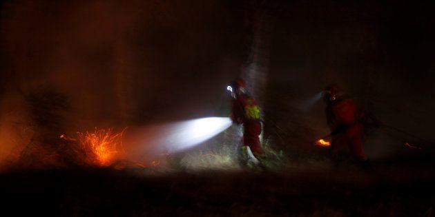 L'incendie en Espagne continue de faire des