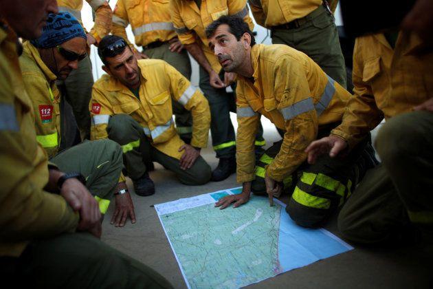L'incendie en Espagne continue de faire des ravages REUTERS/Jon