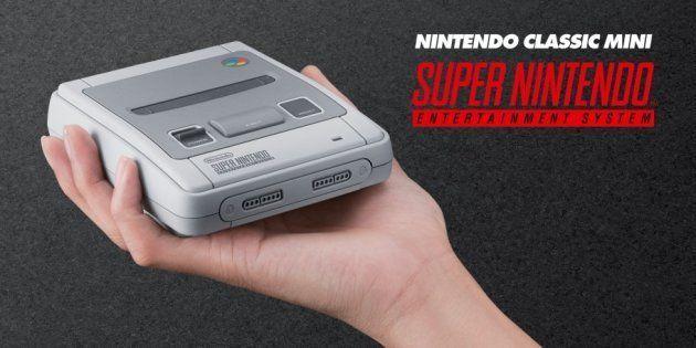 Après la NES Mini, Nintendo dévoile la Super Nintendo Classic, sa nouvelle console