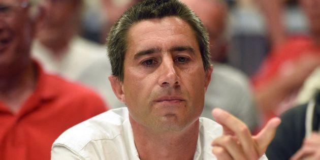 François Ruffin à Flixecourt lors du second tour des élections législatives le 18