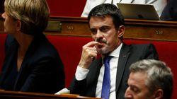 Manuel Valls, en marge d'En