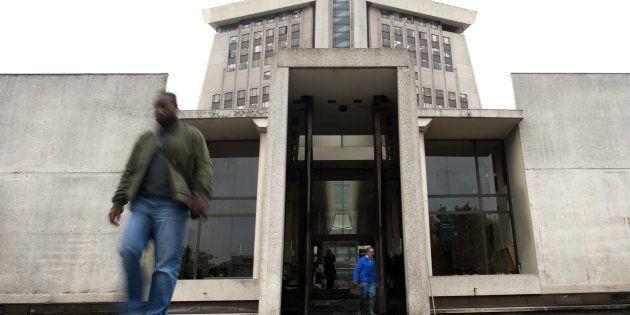 Le Tribunal de grande instance de Créteil menace de libérer des détenus - Photo prise le 2 novembre