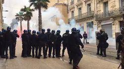 Les images des incidents à Nantes et Montpellier après des rassemblements de soutien aux zadistes de