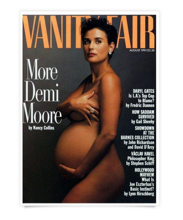 Serena Williams nue et enceinte en couverture de Vanity